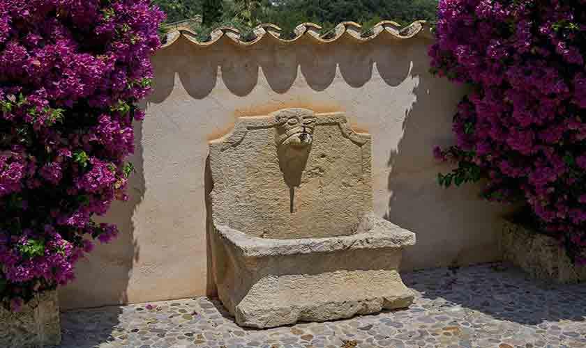 Brunnen Finca Mallorca Norden PM 3760