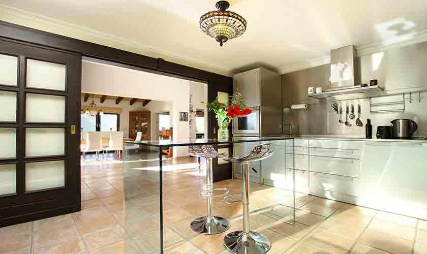 Küche Finca Mallorca Norden PM 3760