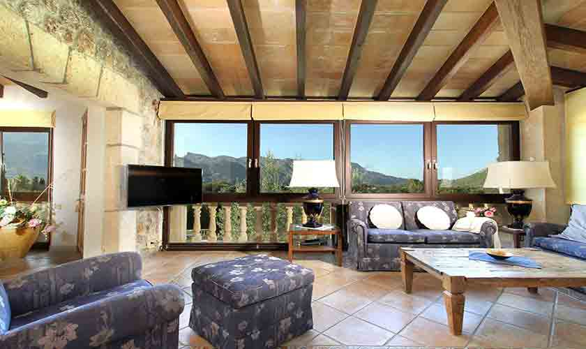 Wohnraum Finca Mallorca Norden PM 3760