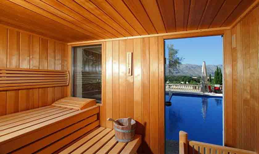 Sauna Finca Mallorca Norden PM 3760