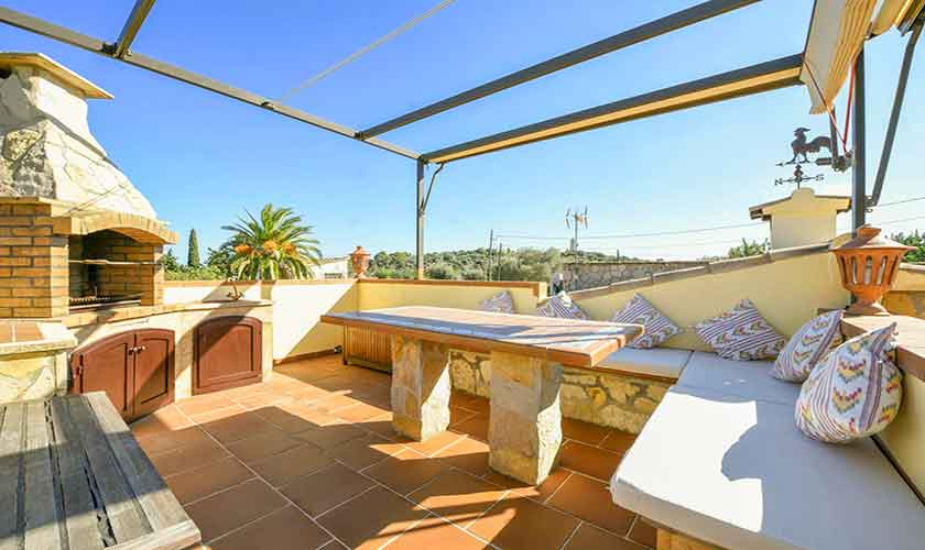 Grillterrasse Finca Mallorca 6 Personen PM 3765