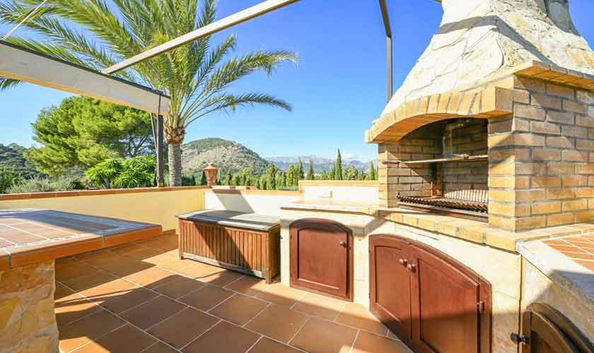 Grillterrasse Finca Mallorca 8 Personen PM 3765
