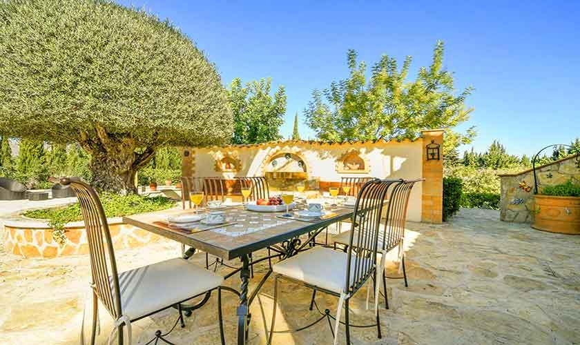 Terrasse Finca Mallorca 6 Personen PM 3765