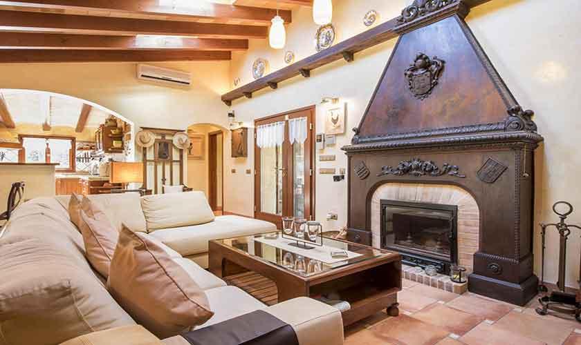 Wohnraum Finca Mallorca 6 Personen PM 3765