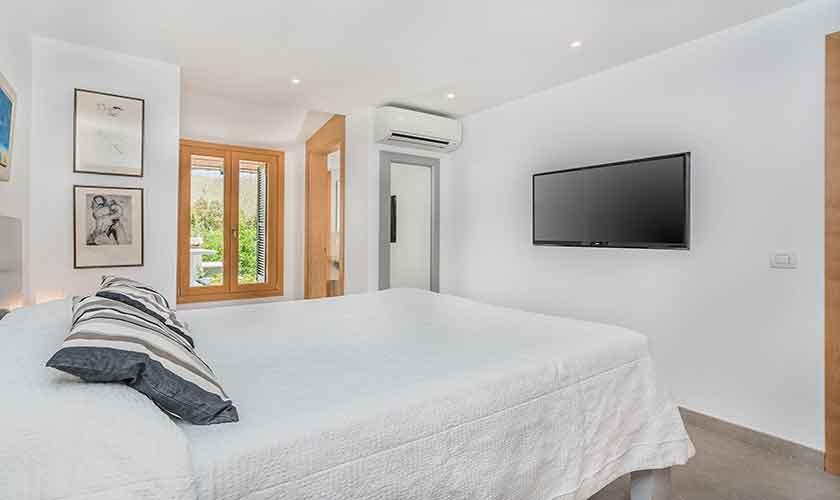 Schlafzimmer Finca Mallorca Norden PM 3781