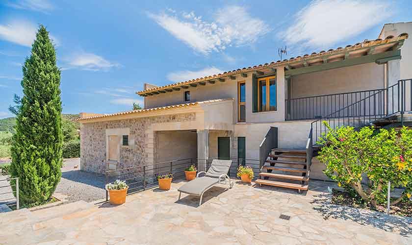 Blick die auf Finca Mallorca Norden PM 3781