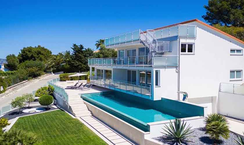 Pool und Garten Villa Mallorca PM 3801