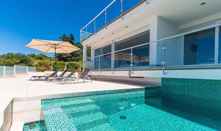 Poolblick Villa in Bonaire auf Mallorca PM 3801