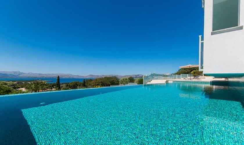 Pool und Meerblick Villa in Bonaire auf Mallorca PM 3801