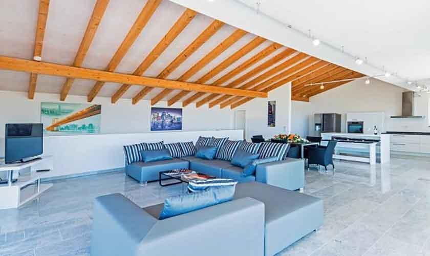 Wohnraum Villa in Bonaire auf Mallorca PM 3801