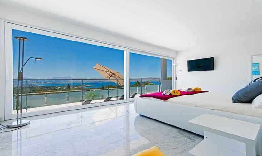 Schlafzimmer Villa in Bonaire auf Mallorca PM 3801