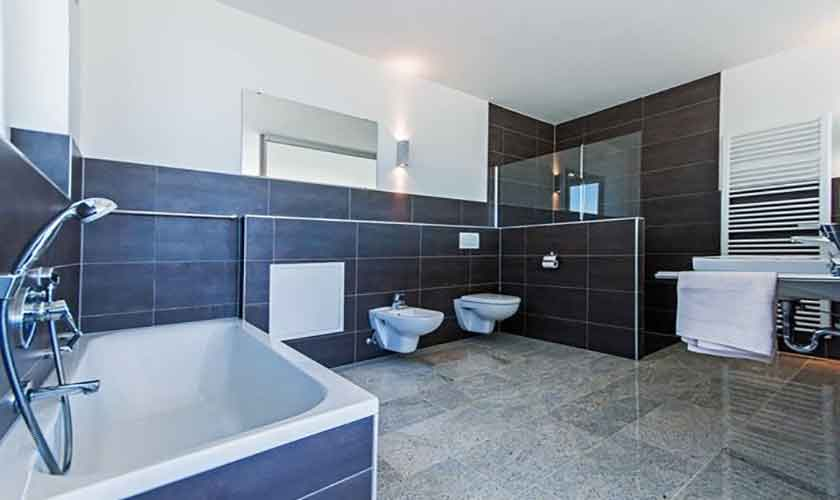 Badezimmer Villa in Bonaire auf Mallorca PM 3801