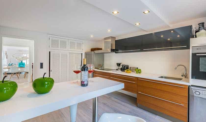 Küche Ferienvilla Mallorca PM 3802