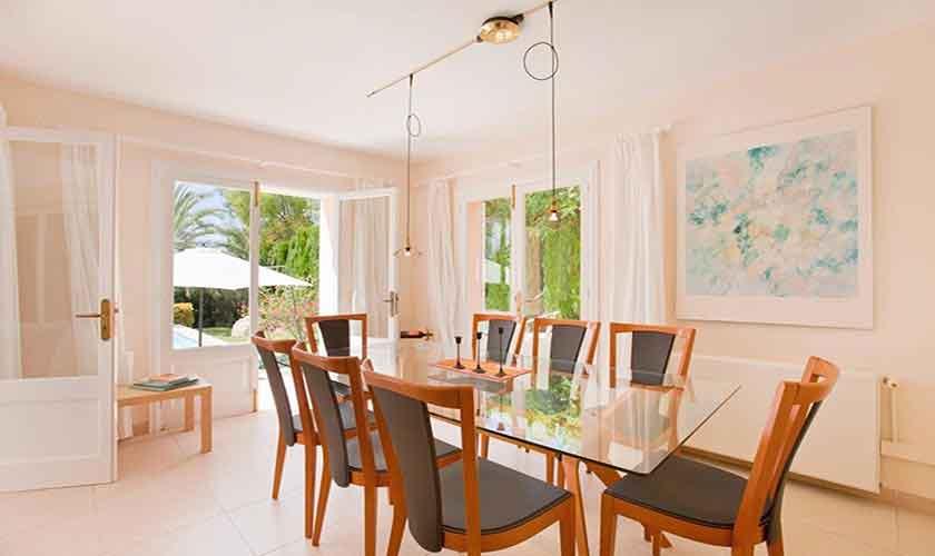 Esstisch Ferienhaus Mallorca PM 3806