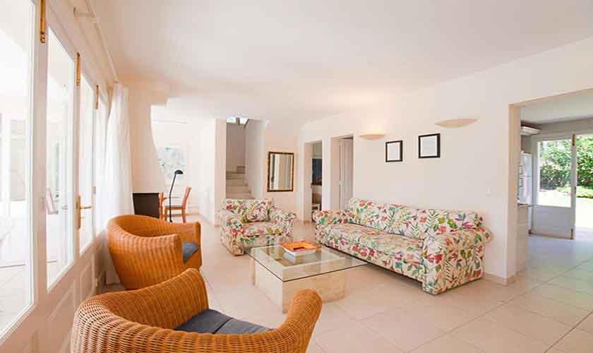 Wohnraum Ferienhaus Mallorca PM 3806
