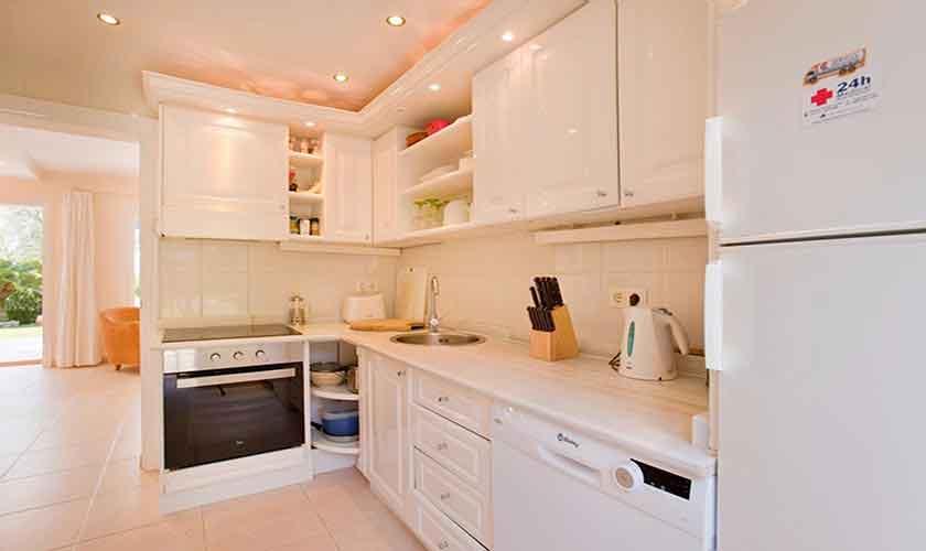 Küche Ferienhaus Mallorca PM 3806