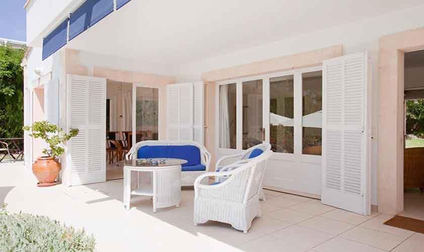 Terrasse Ferienhaus Mallorca PM 3806