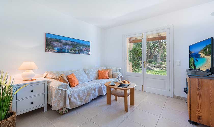 Wohnraum Ferienhaus Mallorca Bonaire PM 3806