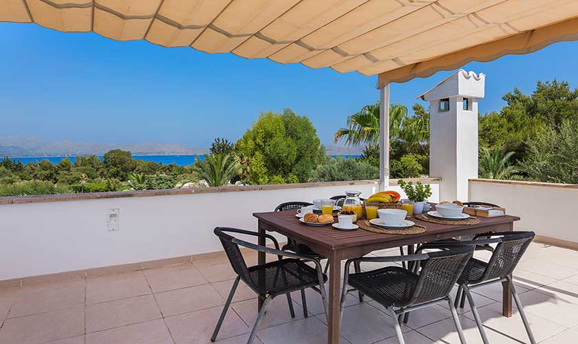 Meerblick Ferienhaus Mallorca Bonaire PM 3806