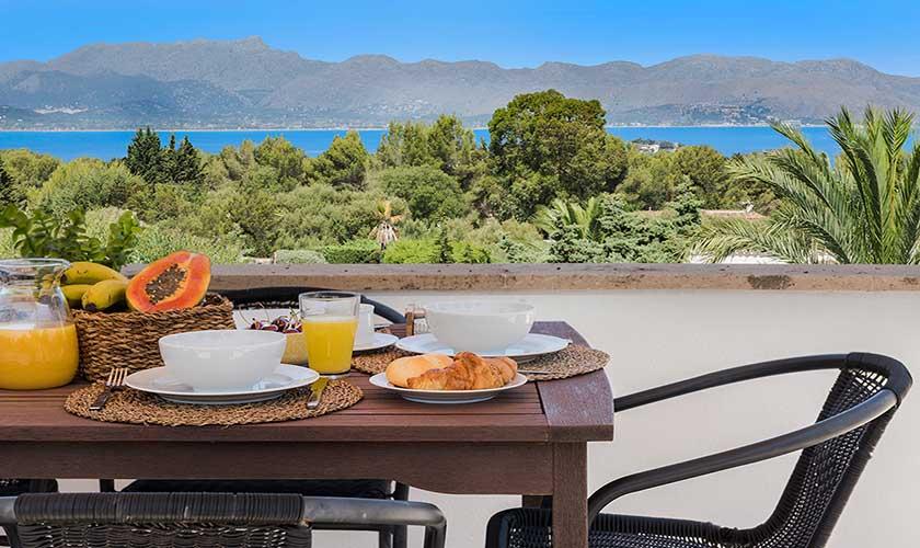 Terrasse und Ferienhaus Mallorca Bonaire PM 3806