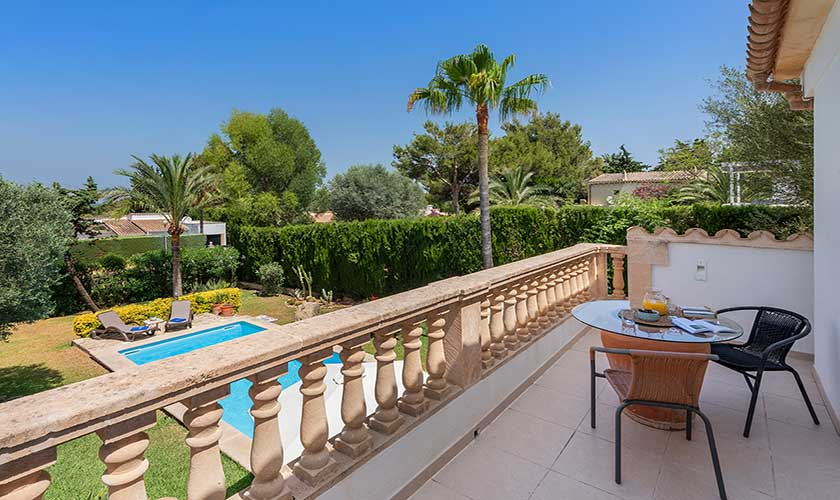Terrasse oben Ferienhaus Mallorca Bonaire PM 3806