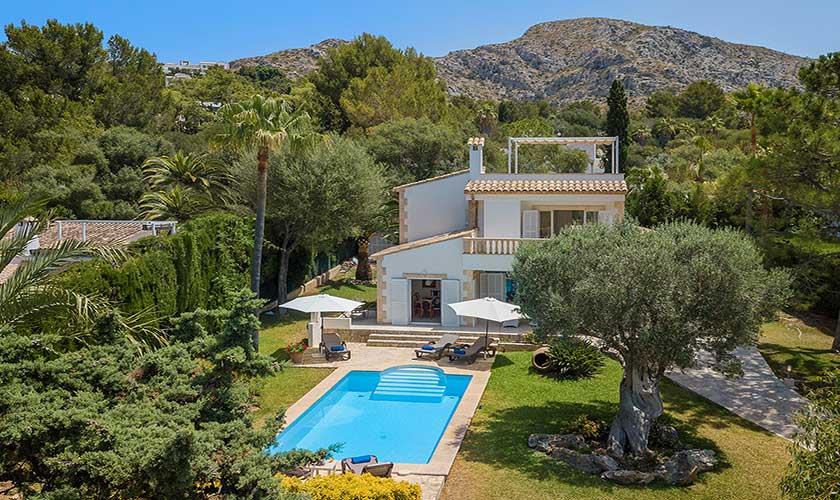 Blick auf das Ferienhaus Mallorca Bonaire PM 3806