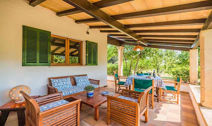 Terrasse und Finca Mallorca PM 3814