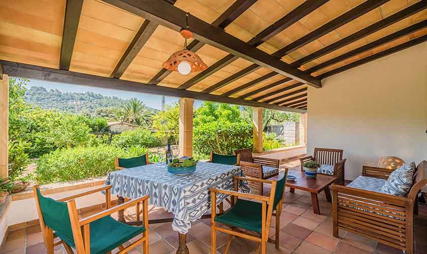 Terrasse Finca Mallorca PM 3814