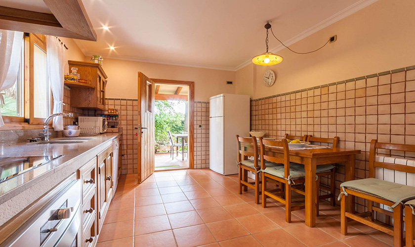 Küche Finca Mallorca 6 Personen PM 3816