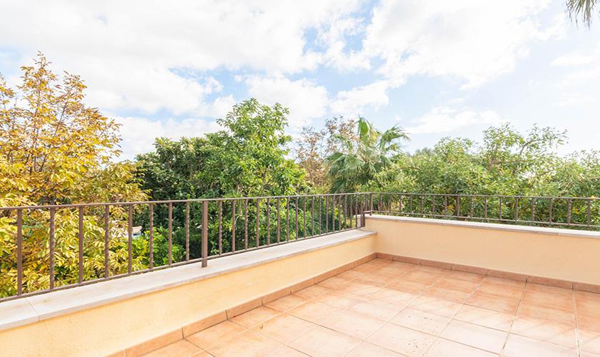 Terrasse oben Finca Mallorca 6 Personen PM 3816
