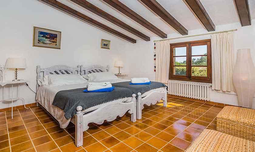Schlafzimmer Finca Mallorca Norden PM 3820