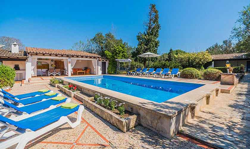 Pool und Ferienfinca Mallorca Norden PM 3820