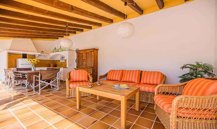 Loungemöbel Terrasse Finca Mallorca PM 3820