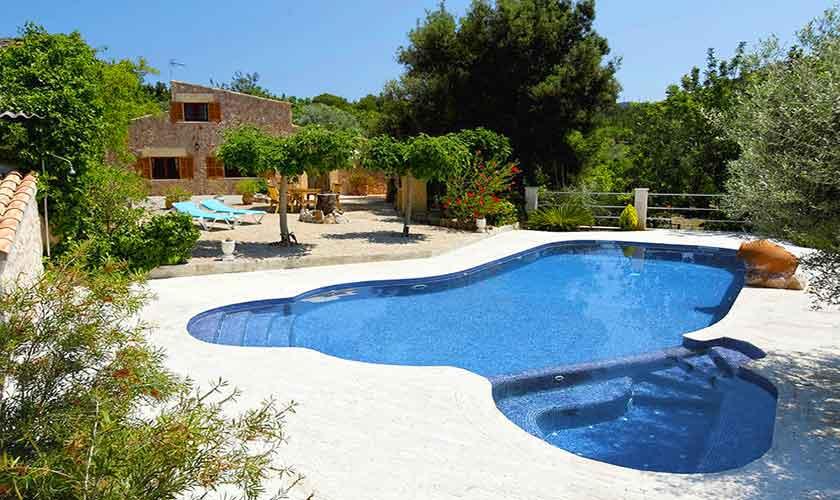 Pool und Finca Mallorca Norden PM 3836