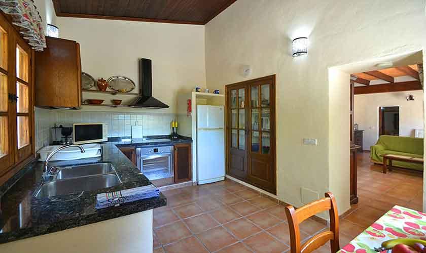Küche Finca Mallorca Norden PM 3836
