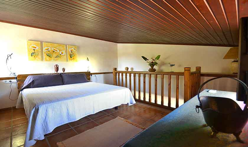 Schlafzimmer Finca Mallorca Norden PM 3836