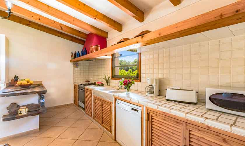 Küche Finca Mallorca 6 Personen PM 3837