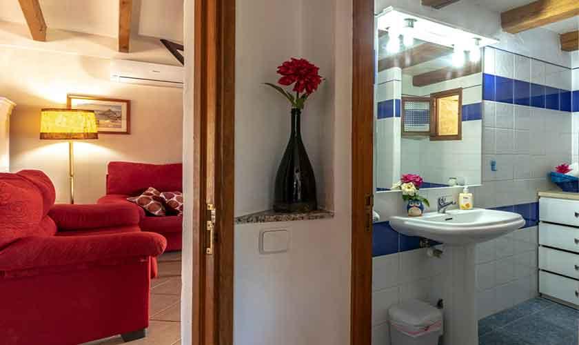 Badezimmer Finca Mallorca 6 Personen PM 3837