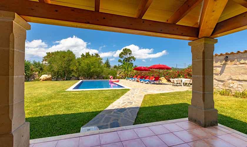 Terrasse Finca Mallorca 6 Personen PM 3837