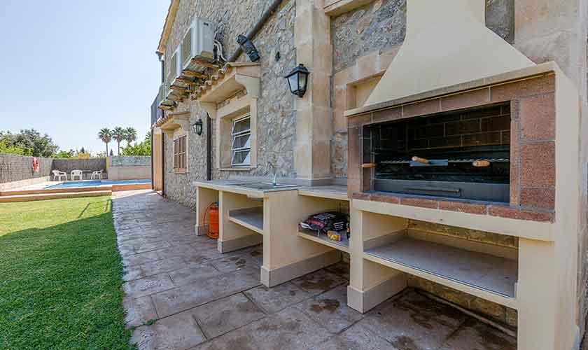 Grillplatz Finca Mallorca Norden PM 3841