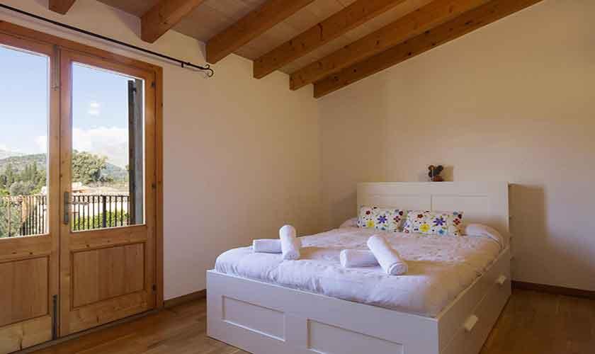 Schlafzimmer Finca Mallorca Norden PM 3841