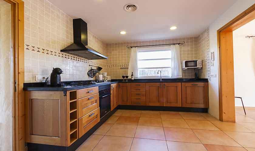 Küche Finca Mallorca Norden PM 3841