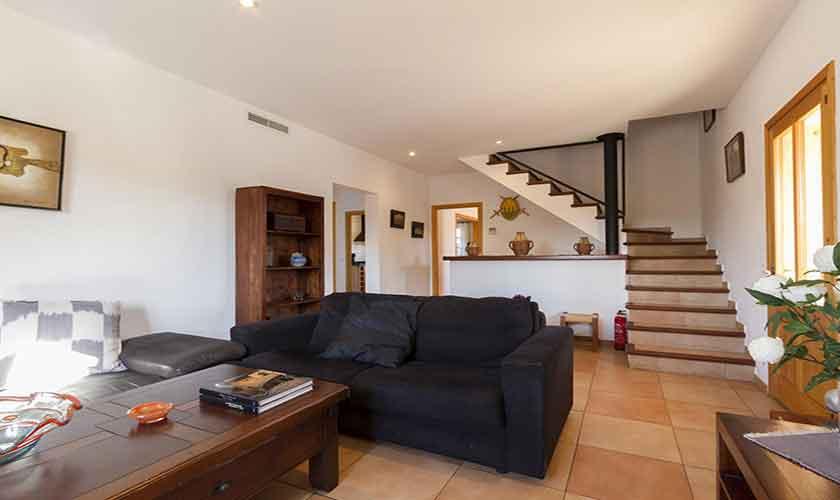 Wohnraum Finca Mallorca Norden PM 3841