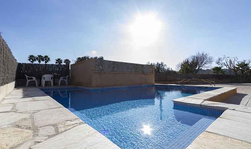 Poolblick Finca Mallorca Norden PM 3841