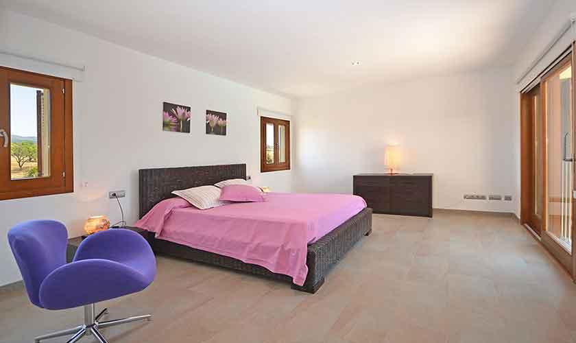 Schlafzimmer Finca Mallorca Nordküste PM 3850