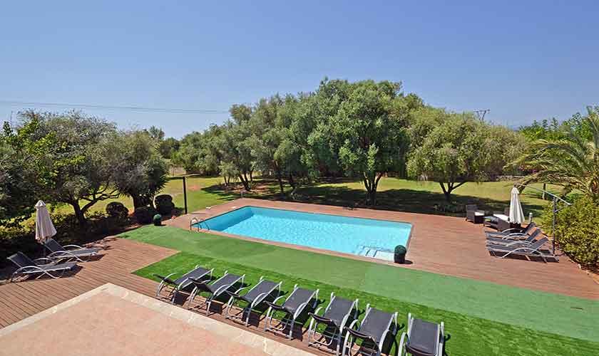 Pool und Finca Mallorca Nordküste PM 3850