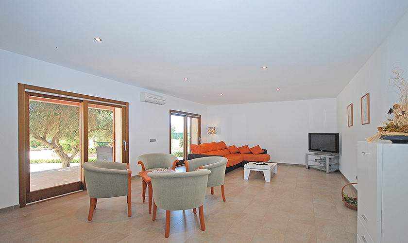 Wohnraum Finca Mallorca Nordküste PM 3850