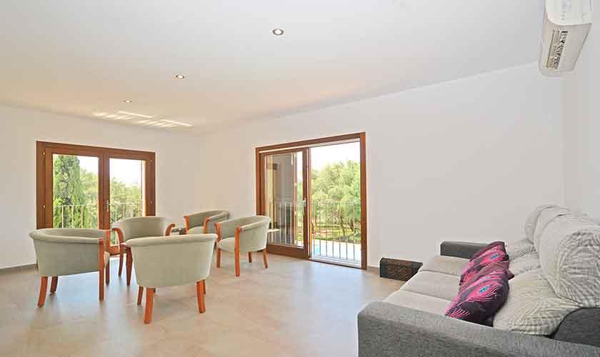 Wohnraum 1. Stock Finca Mallorca Nordküste PM 3850