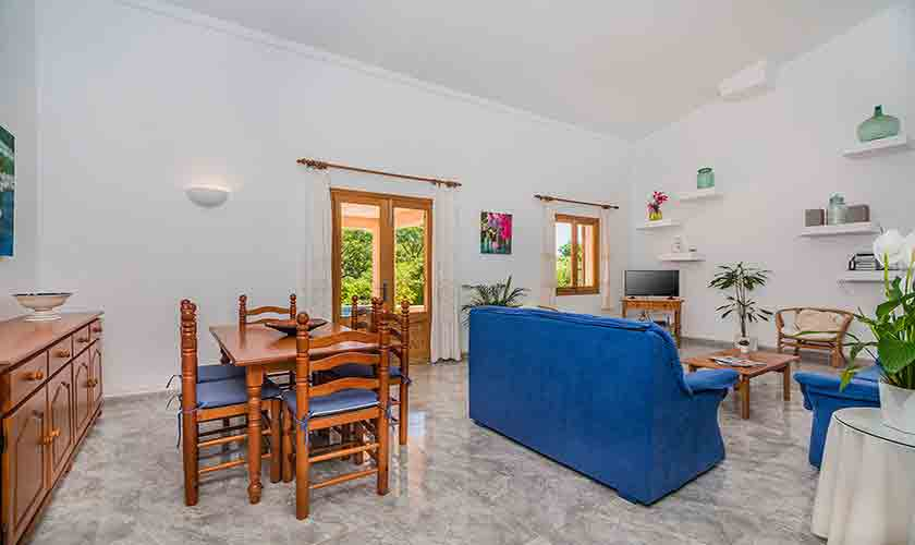 Wohnraum Ferienfinca Mallorca PM 3852