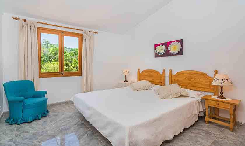 Schlafzimmer Ferienfinca Mallorca PM 3852